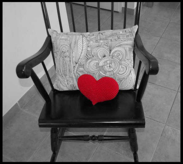 Rockingchair coeur